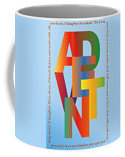 Advent Coffee Mug by Chuck Mountain