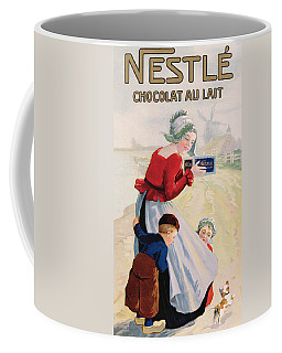 Advertisement For Chocolat Au Lait Coffee Mug