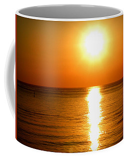 Coffee Mug featuring the photograph Aegean Sunset by Micki Findlay