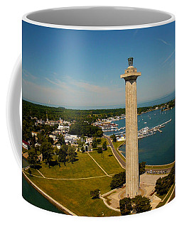 Aerial Perry's Monument  Coffee Mug