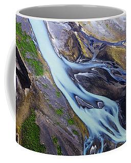 Aerial Photo Of Iceland  Coffee Mug