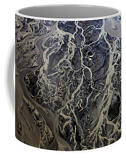 Coffee Mug featuring the photograph Aerial Photography by Gunnar Orn Arnason