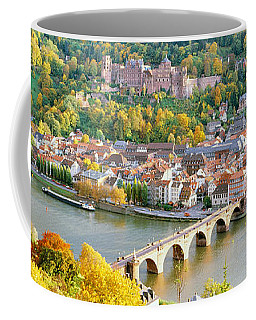 Aerial View Of A City At The Riverside Coffee Mug
