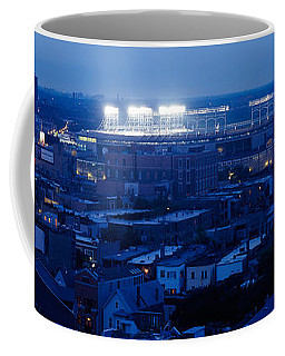 Aerial View Of A City, Wrigley Field Coffee Mug