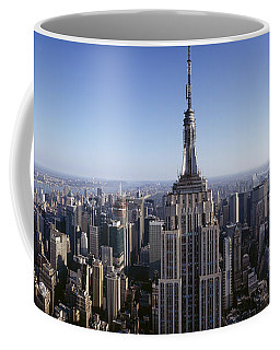 Aerial View Of A Cityscape, Empire Coffee Mug