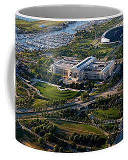 Aerial View Of The Field Museum Coffee Mug