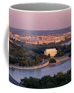 Aerial, Washington Dc, District Of Coffee Mug