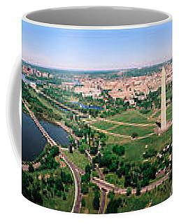 Aerial Washington Dc Usa Coffee Mug