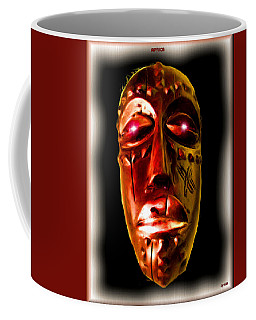Coffee Mug featuring the digital art Africa by Daniel Janda
