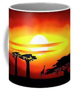 Africa Sunset Coffee Mug