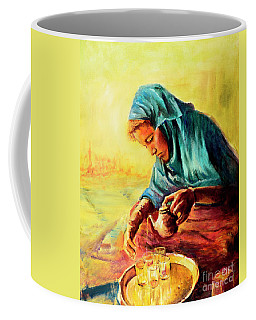 African Chai Tea Lady. Coffee Mug