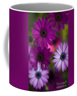 African Daisy Collage Coffee Mug by Mike Reid