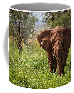 African Desert Elephant Coffee Mug