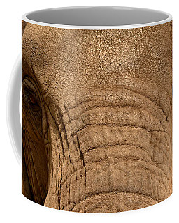 Coffee Mug featuring the photograph African Elephant by Nadalyn Larsen