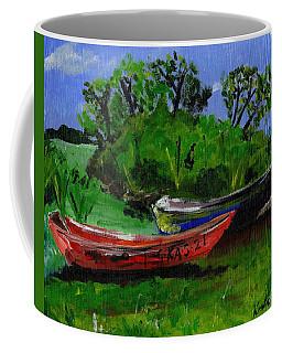African Fishing Boats Coffee Mug