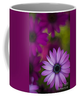African Gerbera Standout Coffee Mug by Mike Reid
