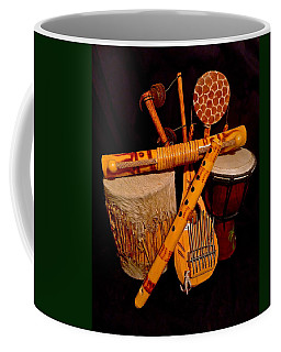 African Musical Instruments Coffee Mug