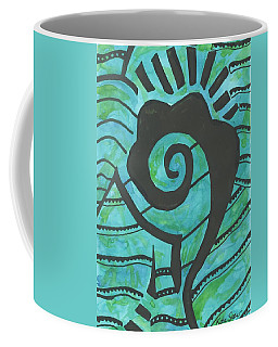 African Question Mark Coffee Mug