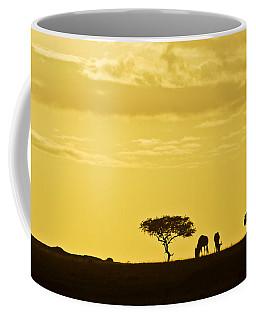African Silhouette Coffee Mug