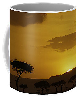 Coffee Mug featuring the photograph African Sunrise by Sebastian Musial