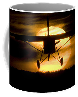 Coffee Mug featuring the photograph African Sunset by Paul Job