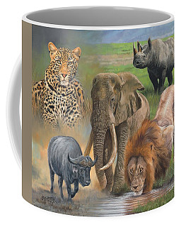 Africa's Big Five Coffee Mug