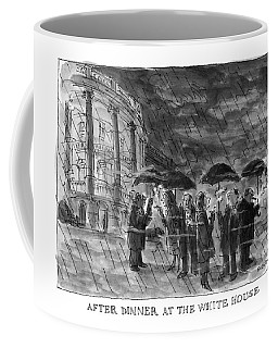 After Dinner At The White House Coffee Mug