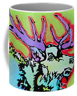 Coffee Mug featuring the painting After Midnight by Nicole Gaitan