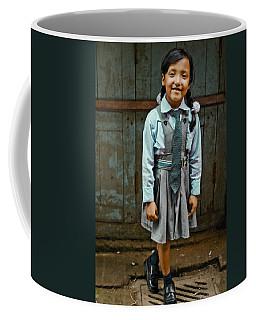 After School Pose Coffee Mug