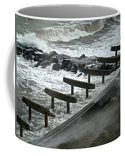 After Storm Sandy Coffee Mug by Joan Reese