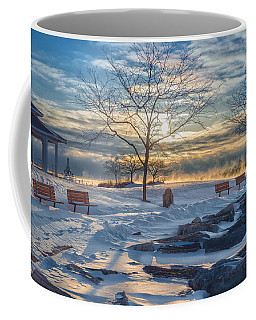 After The Blizzard Coffee Mug by James  Meyer