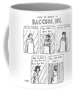 After The Breakup Of Bacchus Coffee Mug