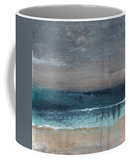 After The Storm- Abstract Beach Landscape Coffee Mug
