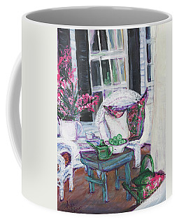 Afternoon At Emmaline's Front Porch Coffee Mug