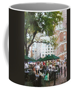Afternoon At Faneuil Hall Coffee Mug