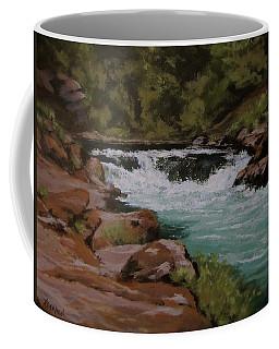 Afternoon At The Narrows Coffee Mug