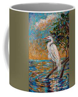 Afternoon Egret Coffee Mug