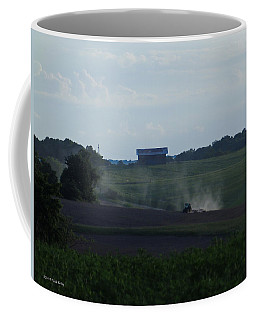 Coffee Mug featuring the photograph Afternoon Farming by Nick Kirby