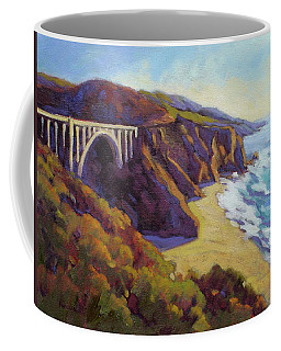 Afternoon Glow 3 Big Sur Coffee Mug