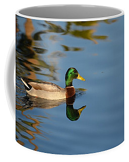 Coffee Mug featuring the photograph Afternoon Solitude by Deb Halloran