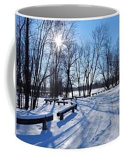 Afternoon Sun Coffee Mug by Betty-Anne McDonald