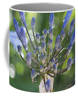Agapanthus - Natural Abstract Coffee Mug