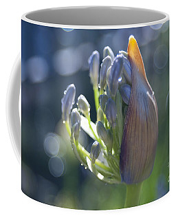 Agapanthus Coming To Life Coffee Mug