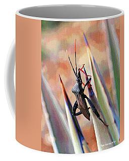 Agave Bug  Coffee Mug by Tom Janca