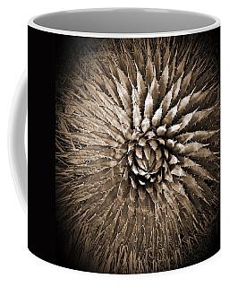 Agave Spikes Sepia Coffee Mug