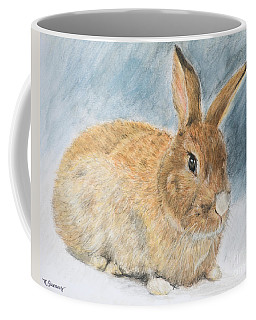Agouti Pet Rabbit Coffee Mug by Kate Sumners