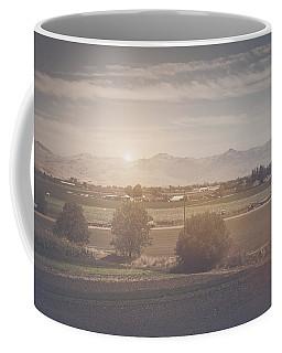 Agriculture Scene In Retro Instagram Style Filter Coffee Mug