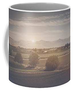 Agriculture Scene In Retro Instagram Style Filter Coffee Mug