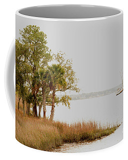 Aground At The Marsh Coffee Mug