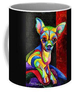 Ah Chihuahua Coffee Mug by Sherry Shipley